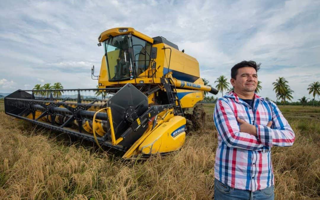 Historia de éxito: Cosechadora New Holland TC 5090 en el valle arrocero de Bellavista San Martín