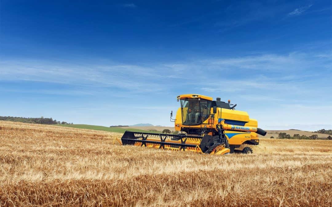 Historia de la marca de cosechadoras New Holland en Perú