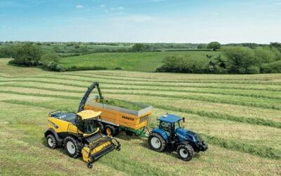 ¿Dónde se fabrican los tractores New Holland?